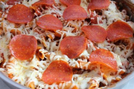 Pepperoni Pizza Pasta recipe process3