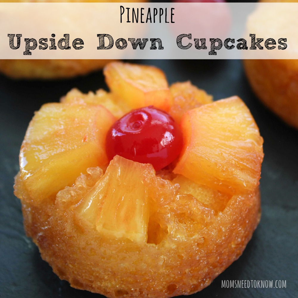 Pineapple Upside Down Cupcakes sq