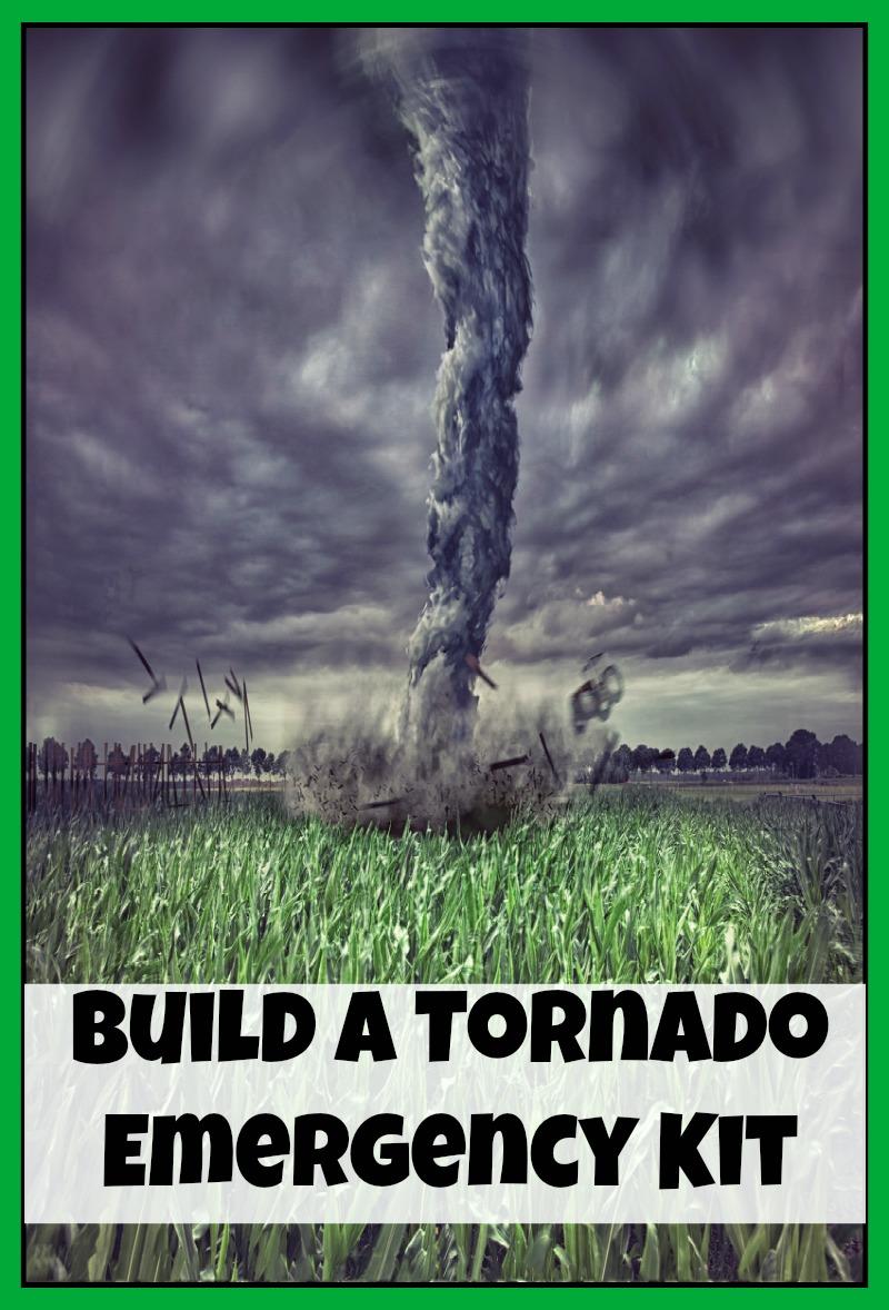 Build a Tornado Emergency Kit