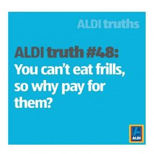 Aldi Truth Frills