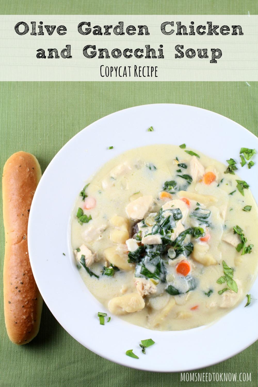 Olive Garden Gnocchi Soup Recipe Healthy
