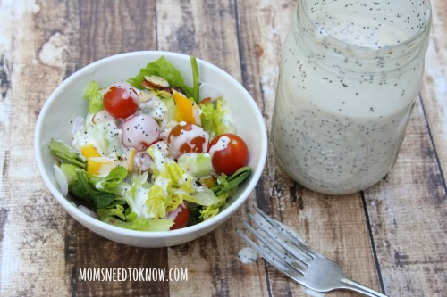 Creamy Poppyseed Salad Dressing sm