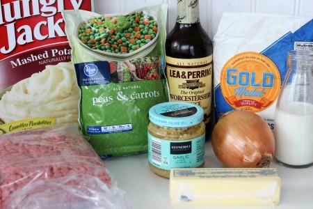 Easy Shepherds Pie Recipe ingredients