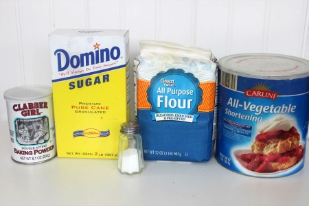 Homemade Baking Mix Copycat Bisquick Recipe ingredients