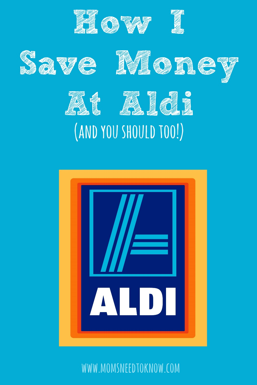 How I Save Money At Aldi