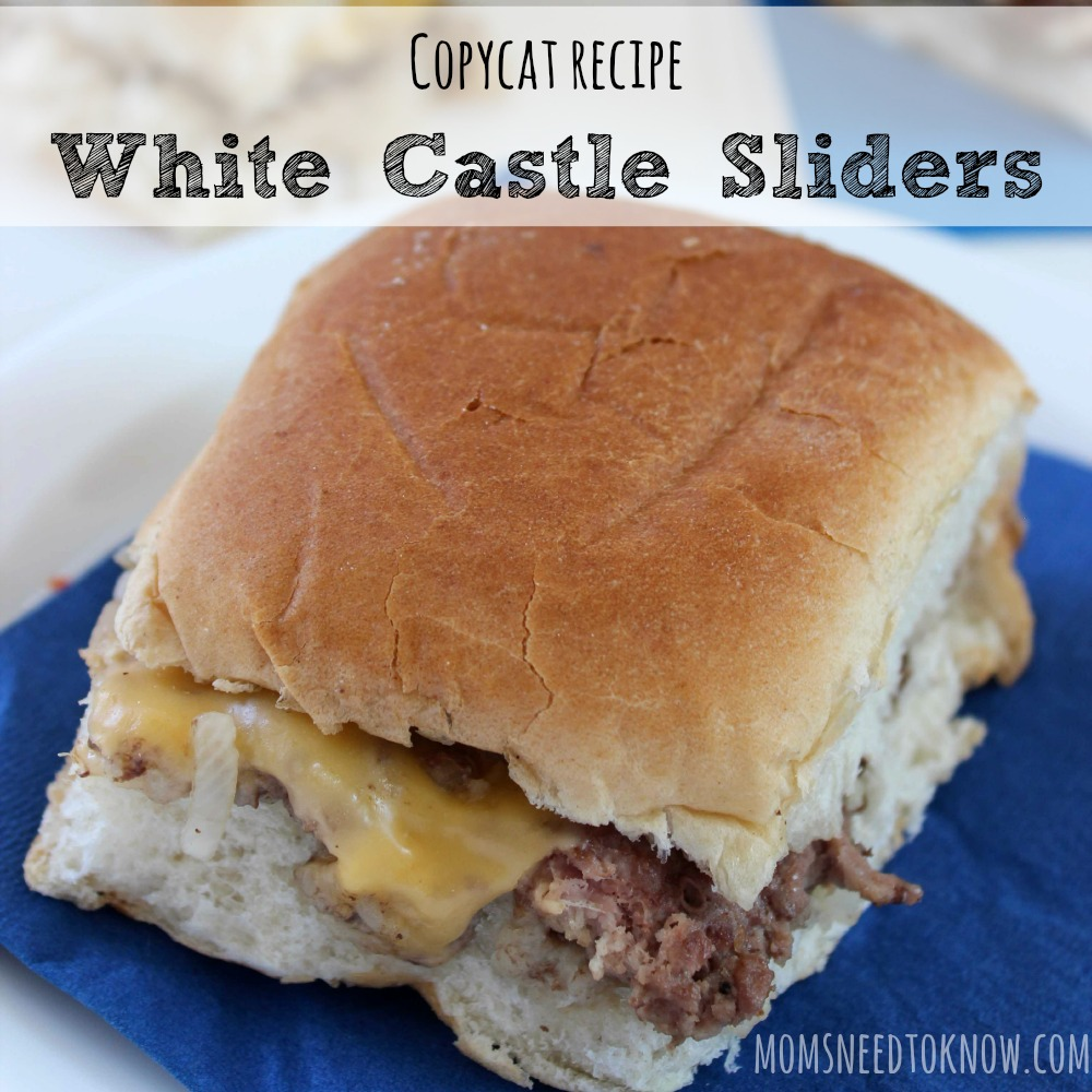 How To Make White Castle Sliders sq