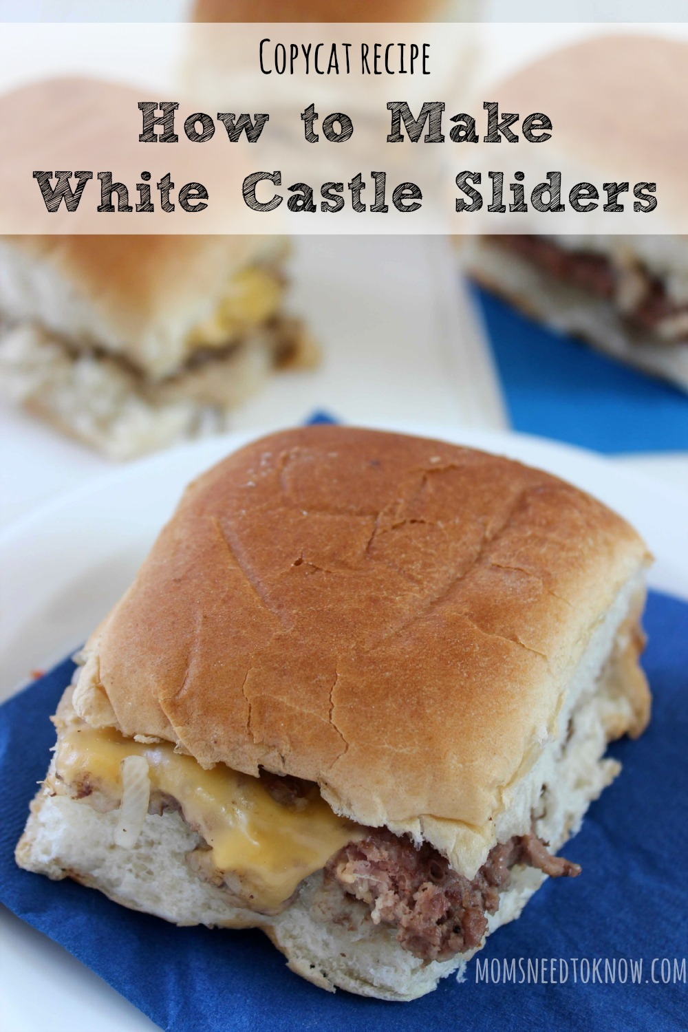 How To Make White Castle Sliders