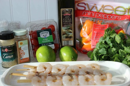 Southwest Shrimp Skewers ingredients