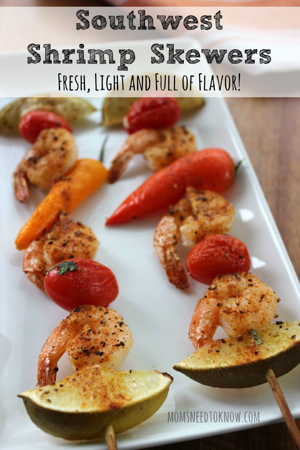 Southwest Shrimp Skewers