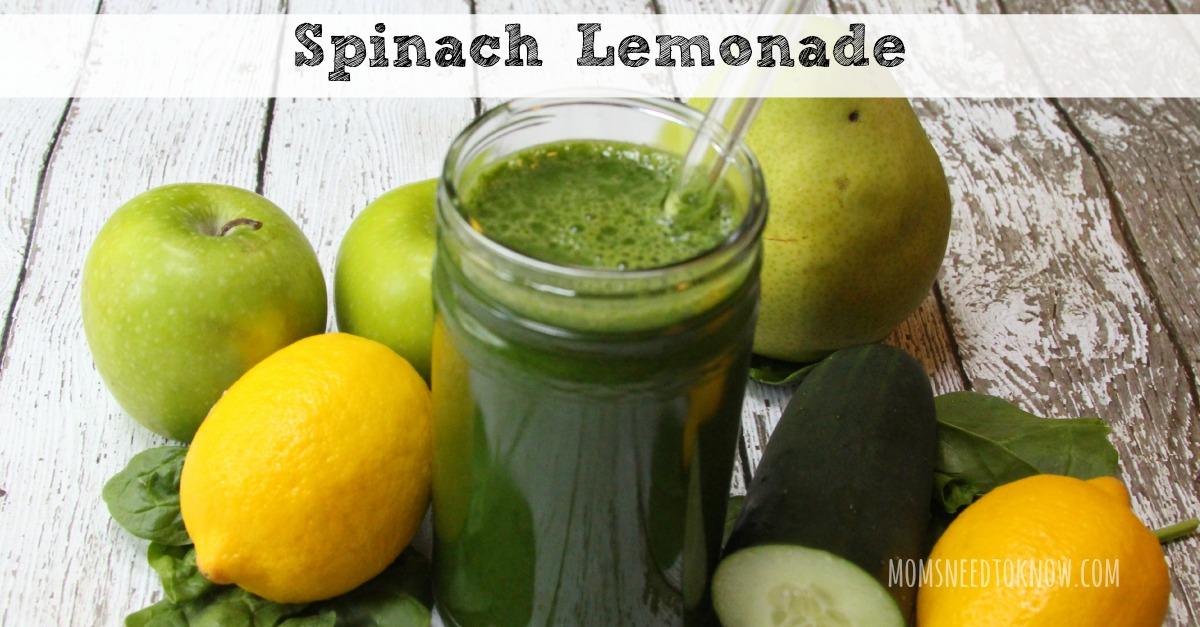 Spinach Lemonade fb