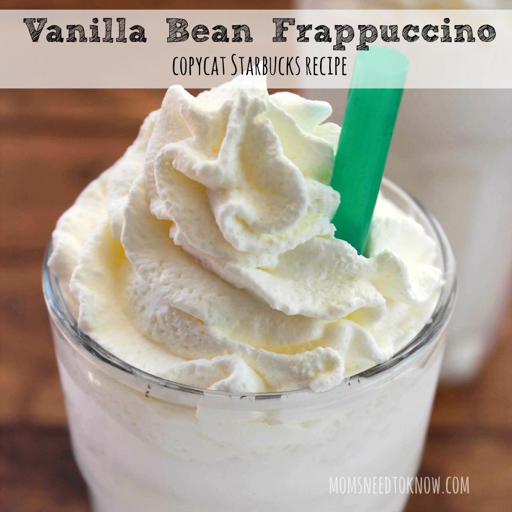 Vanilla Bean Frappuccino sq