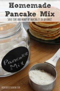 How Do You Make Homemade Pancakes