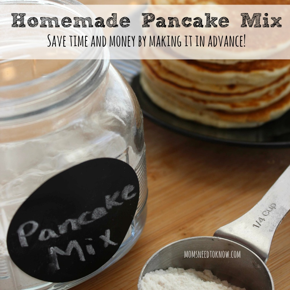 How to make your own homemade pancake mix ccuart