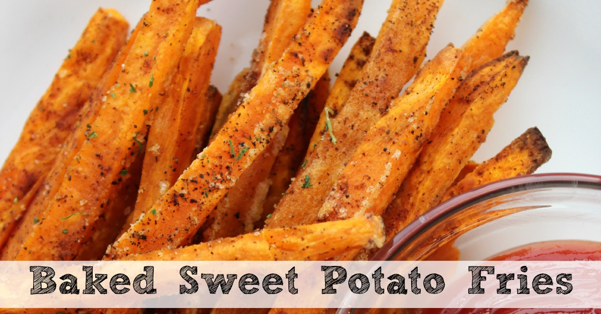 Baked Sweet Potato Fries | Moms Need To Know ™