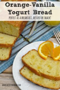 Orange Vanilla Yogurt Bread | Perfect for Breakfast or Dessert!