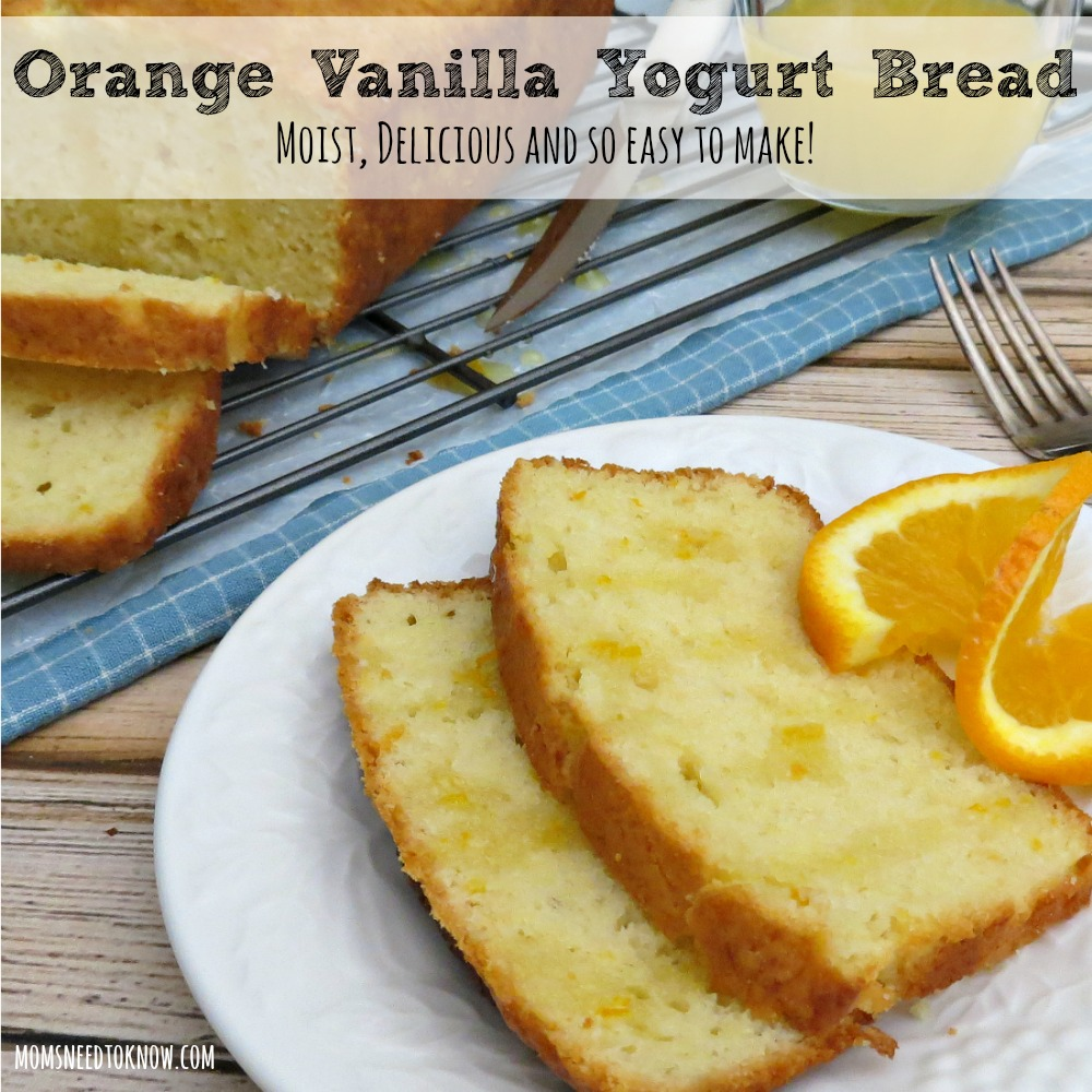Orange Vanilla Yogurt Bread sq