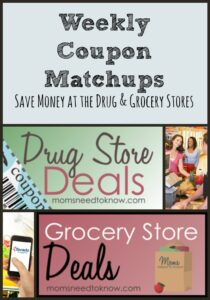 Grocery Deals and Coupon Matchups Updated | October 9, 2016