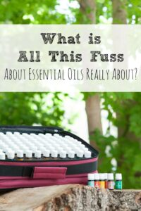 What is All This Fuss About Essential Oils?