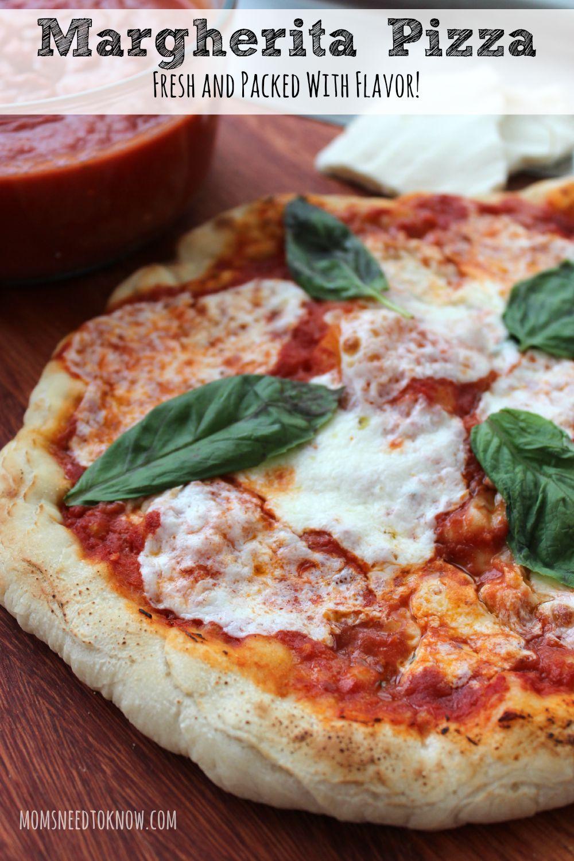 Easy Pizza Recipe Margherita Pizza Recipe