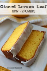There is no reason to pay $3 for a slice of lemon bread when you can make this copycat Starbucks Glazed Lemon Loaf at home for a fraction of the price!