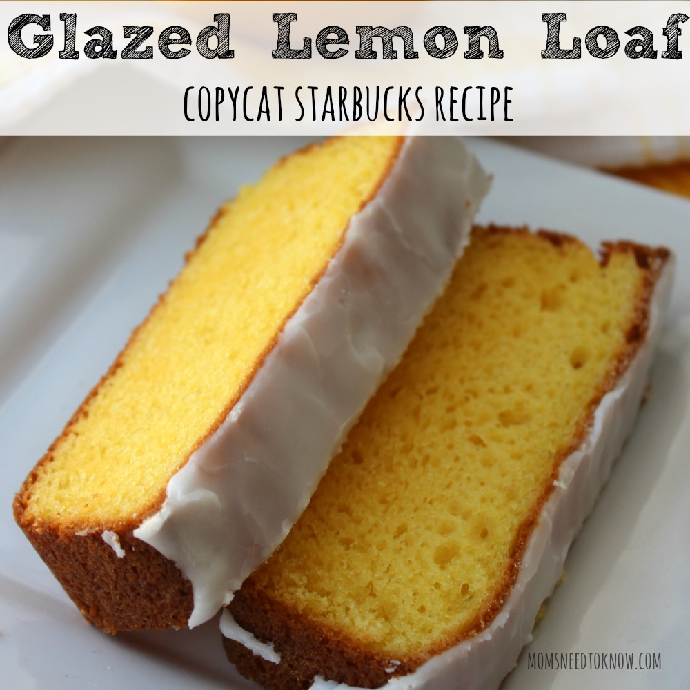 Glazed Lemon Loaf - Copycat Starbucks Recipe sq