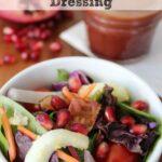Pomegranate Balsamic Vinaigrette Salad Dressing