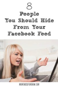 8 People You Should Hide From Your Facebook Feed