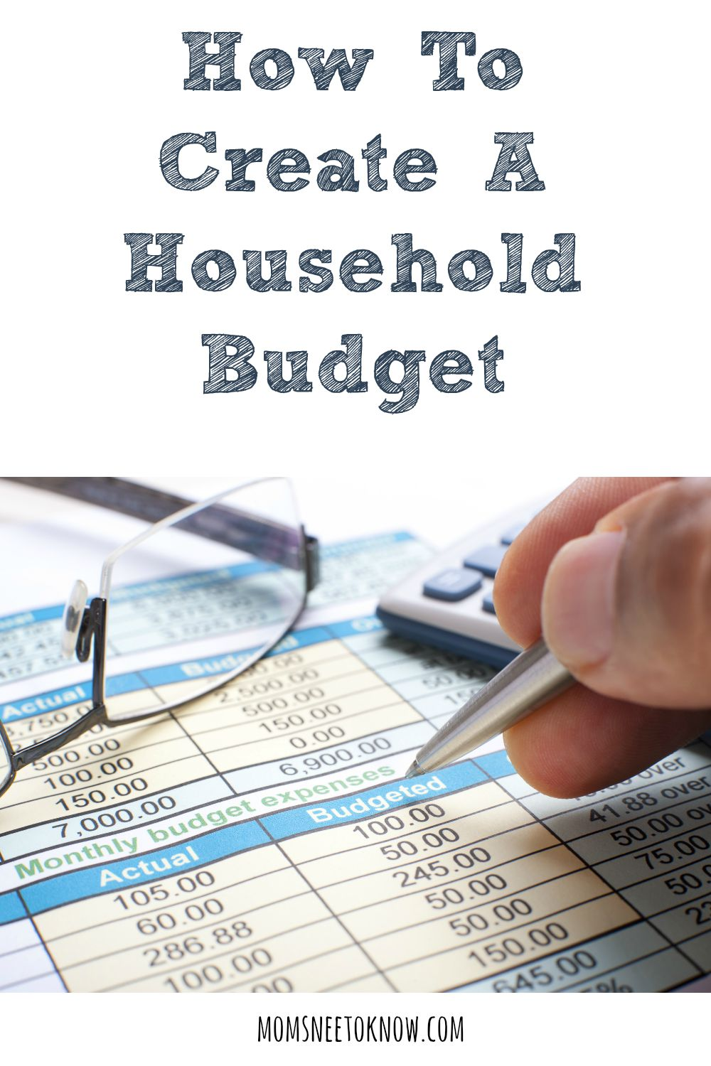 How To Create a Household Budget