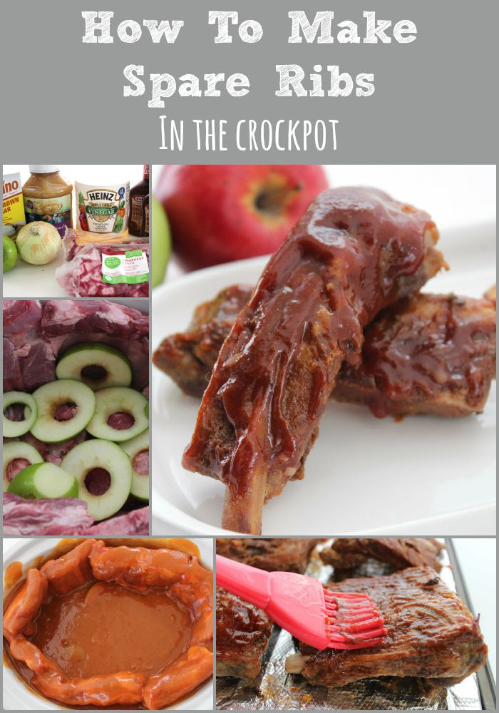How To Make Spare Ribs In The Crockpot collage