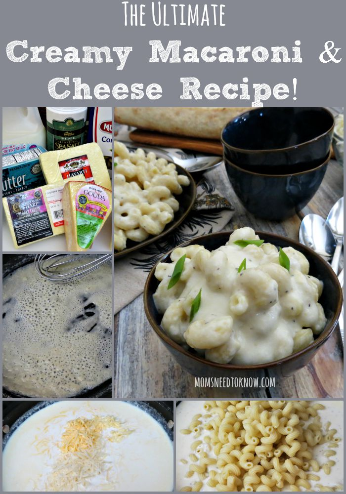 The Ultimate Creamy Macaroni and Cheese Recipe collage