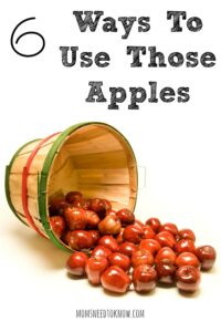 6 Ways To Use Up Those Apples