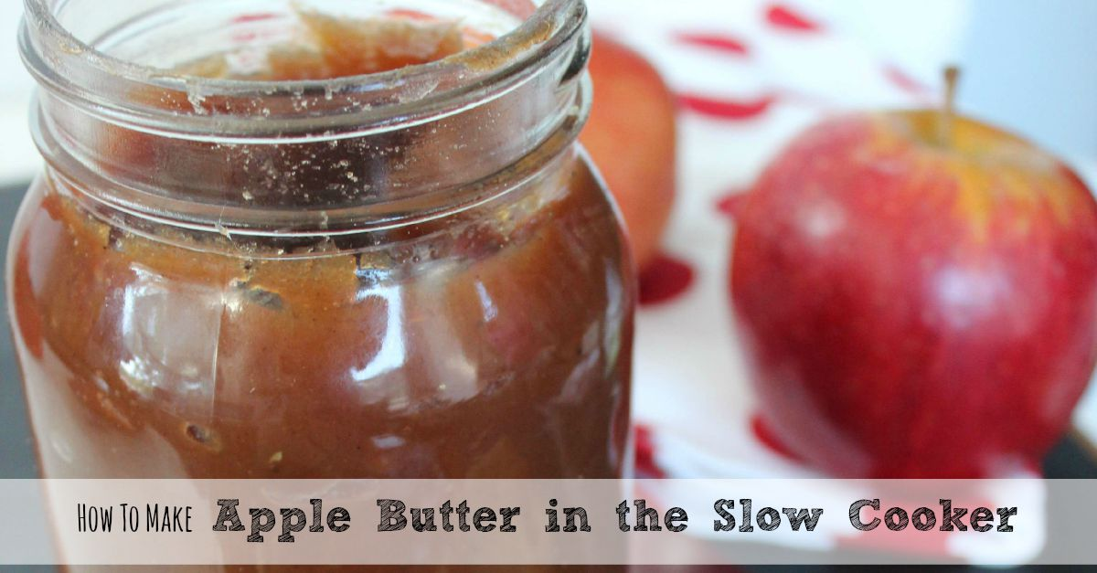Slow Cooker Apple Butter Recipes — Dishmaps