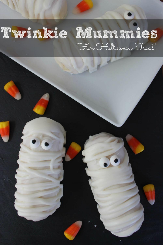 Twinkie Mummies Pinterest