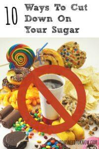 Cutting down on your sugar is a great place to start - and here is how you can do it!