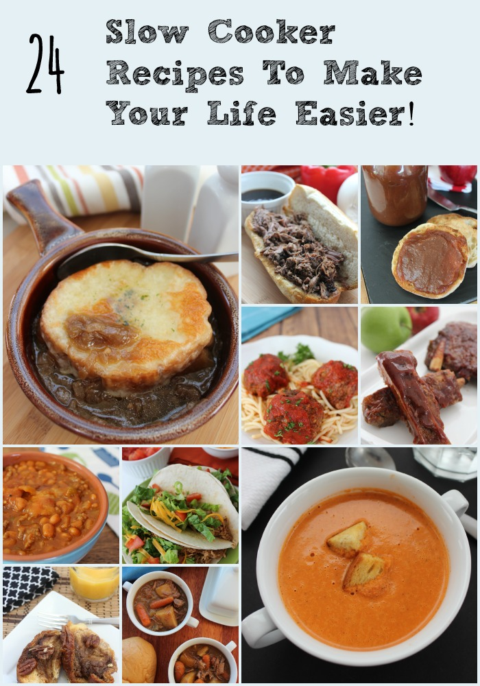 If you love your slow cooker as much as I do, or you have one and on the hunt for new recipes, here are 24 Crock Pot recipes that you are sure to love!