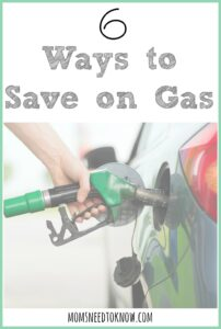 6 Ways To Save On Gas