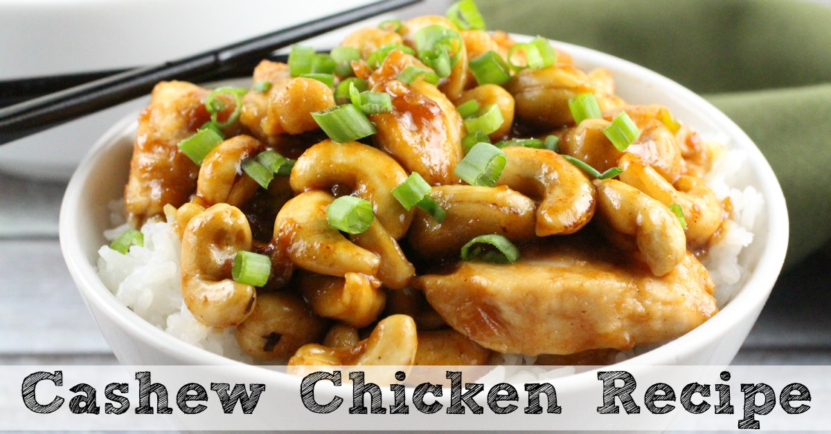 Cashew Chicken Recipe Recipe — Dishmaps