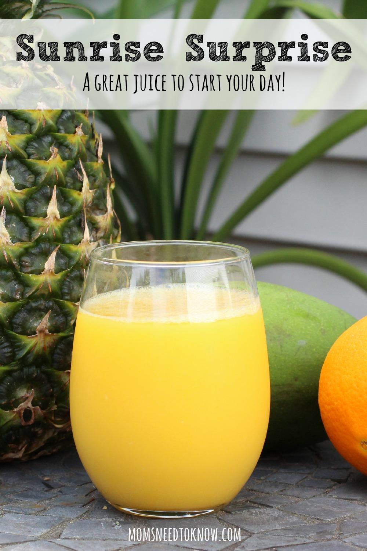 Sunrise Surprise Juice