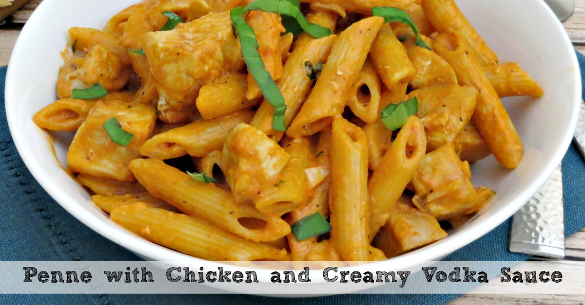 Chicken And Penne In Vodka Cream Sauce Recipe — Dishmaps