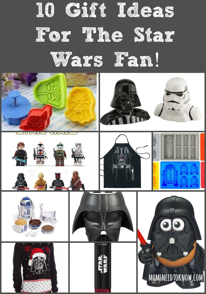 10 Gift Ideas For The Star Wars Fan