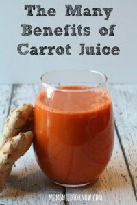 The Many Benefits of Carrot Juice