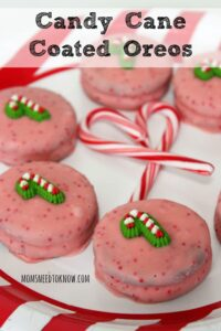 Candy Cane Covered Oreos | So Easy To Make!