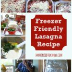 Freezer Friendly Lasagna Recipe