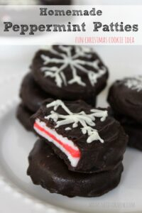 Easy Homemade Peppermint Patties Recipe