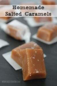 Homemade Salted Caramels Recipe