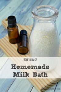 how to make peppermint milk bath