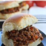 Sloppy Joe Recipe - Sliders For Game Day