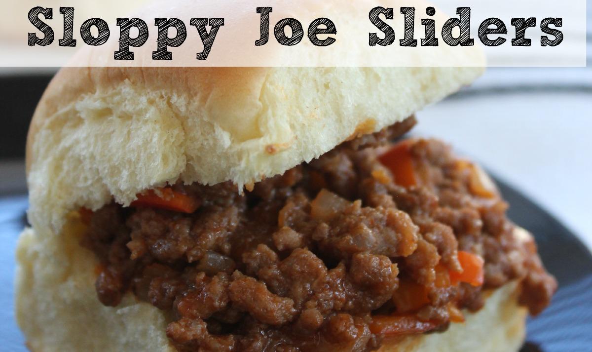 Sloppy Joe Recipe | Sloppy Joe Sliders! | Moms Need To Know ™