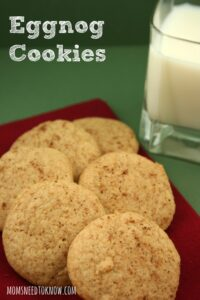 Eggnog Cookies | Christmas Cookie Idea