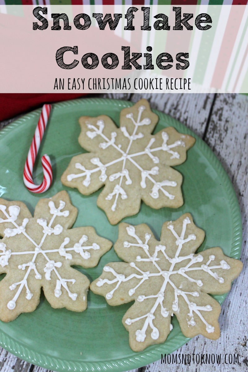 Snowflake Cookies recipe